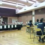 南伊豆町の町議選挙の開票所